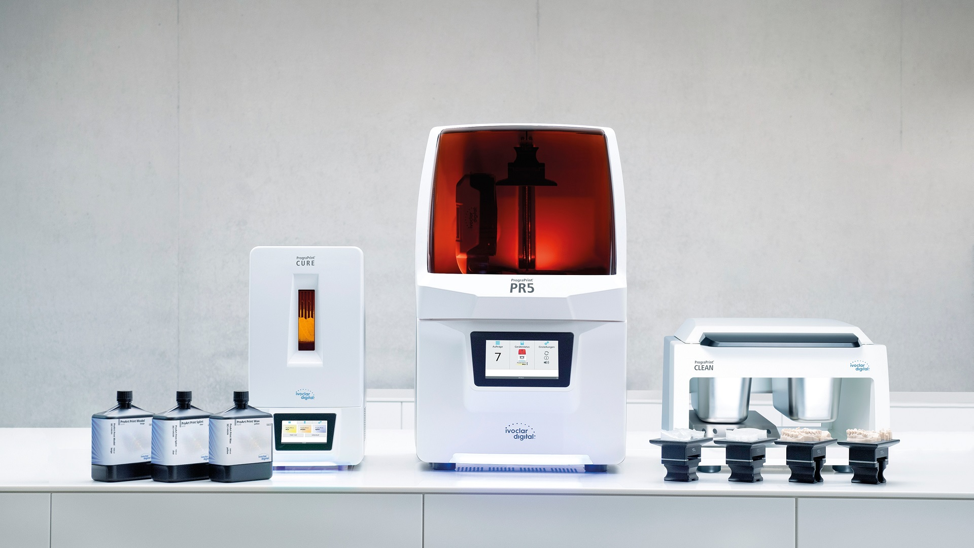 The future of 3D printing for digital laboratories is now